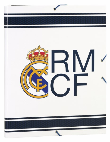FOLDER FOLIO 3 LAPELS REAL MADRID 1 AND