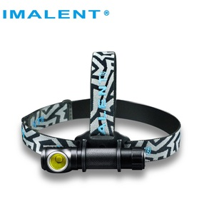 Image 1 - IMALENT HR70 LED Flashlight CREE XHP70. Headlamp 3000lm Rechargeable Headlight with 18650 3000mAh battery + USB Charging Cable