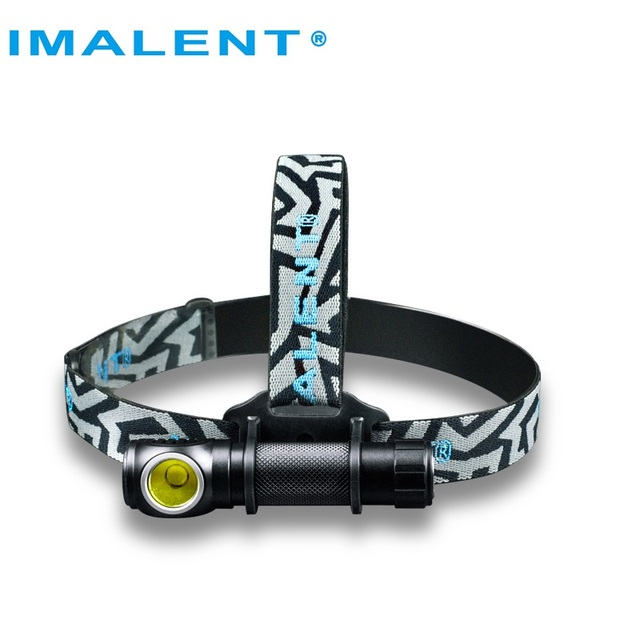 IMALENT HR70 LED Flashlight CREE XHP70. Headlamp 3000lm Rechargeable Headlight with 18650 3000mAh battery + USB Charging Cable