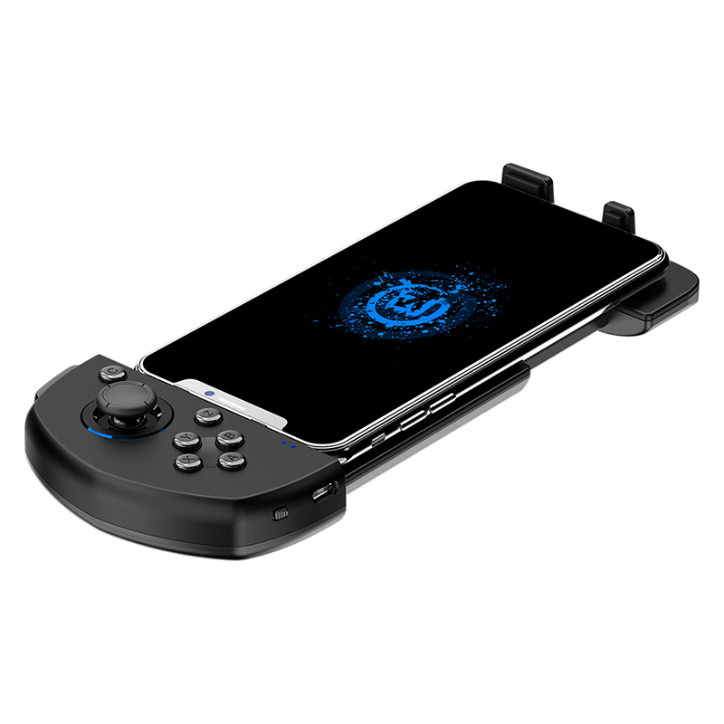 Mobile Game Controller G6 One-Handed Wireless Bluetooth Gamepad With Joystick for iPhone COD/PUBG image