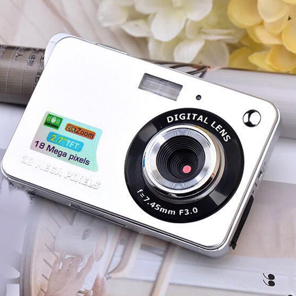 2.7 Inch Digital Camera TFT HD Screen 18.0MP CMOS 3.0MP Video Recorder Camcorders DQ-Drop