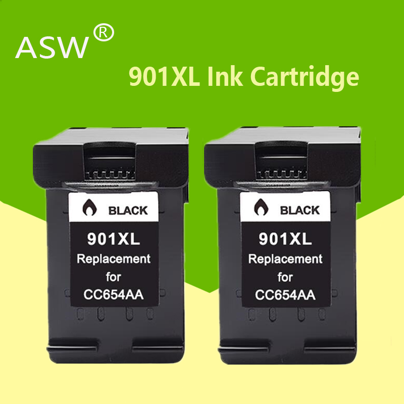 ASW 901XL <font><b>Cartridge</b></font> Compatible for <font><b>hp</b></font> <font><b>901</b></font> xl hp901 Ink <font><b>Cartridge</b></font> for Officejet 4500 J4500 J4540 J4550 J4580 J4680 printer image