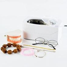 Ультразвуковой мини очиститель ювелирных изделий часов 400 мл