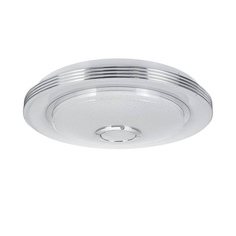80w, luminária redonda inteligente para casa, quarto,