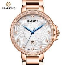 Часы starking женские механические роскошные ювелирные водонепроницаемые