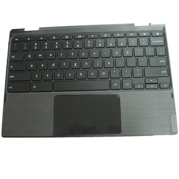 New Palmrest with Touchpad with Keyboard Fit For Lenovo Chromebook 300e Gen 2 C-Cover FRU 5CB0T95165