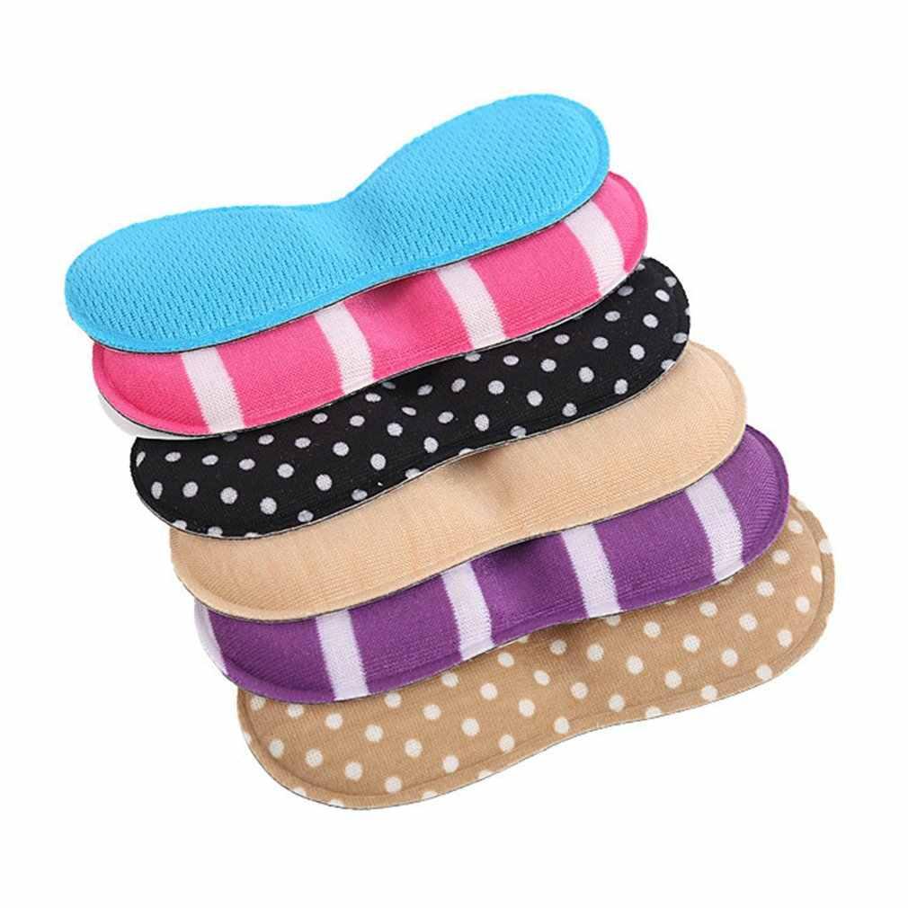Masaj kelebek şeklinde tabanlık yüksek topuk ayakkabı ped süper yumuşak astar kaymaz sünger ayakkabı yastık ayak topuk koruyucu