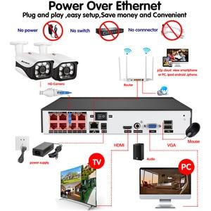 Image 5 - AHCVBIVN 8CH 5MP kablosuz NVR POE güvenlik kamera sistemi açık IR CUT CCTV Video gözetim Video kaydedici kiti yüz kayıt