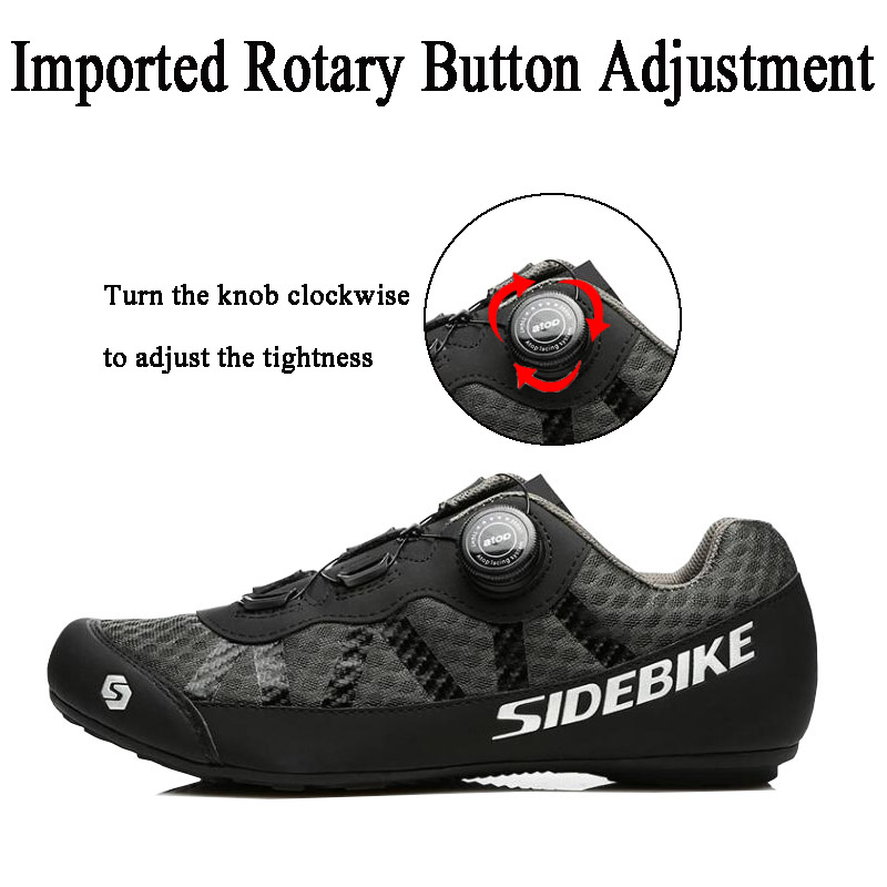 Sidebike 2 cores sapatos de ciclismo men