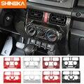 SHINEKA Innen Zubehör Für Suzuki Jimny Auto Automatische Klimaanlage Control Panel Schmücken Abdeckung Für Suzuki Jimny 2019 +