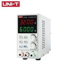 купить UNI-T UTP1306S DC Power Supply 4bits Display LED 0-32V 0-6A High Precision Adjustable Mini Supply Stabilized Voltage дешево