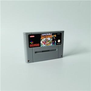 Image 5 - Super Mari World All Stars 2D Land Omega Return to Dinosaur Land 3x   RPG Game Card EUR Version Battery Save