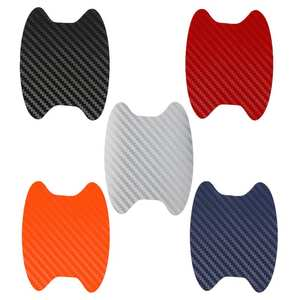 Protection-Film Sticker Car-Handle Car-Exterior-Decoration Automotive 4pcs Scratches-Resistant-Cover