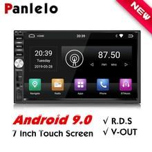 Panlelo 2 Din Car Radio Android 9 GPS Player 7 inch Autoradio Build-in Wifi RDS 9.0 2G RAM For Honda Hyundai