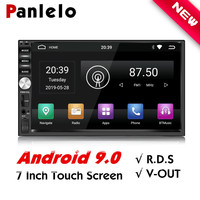 Panlelo 2 Din Car Radio Android 9 GPS Player 7 inch Autoradio Build in Wifi RDS Android 9.0 Radio 2G RAM For Honda Hyundai