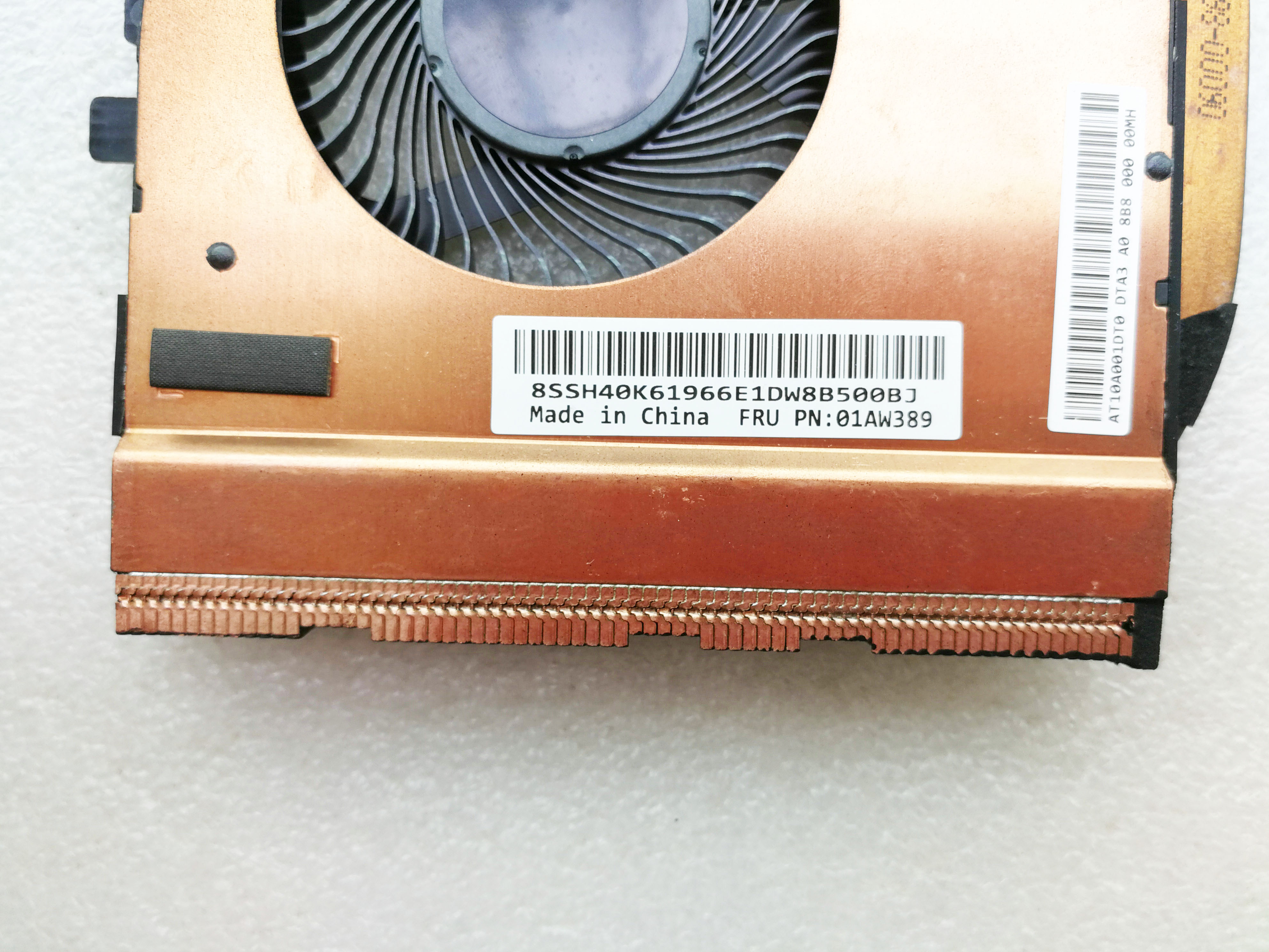 original for Lenovo for ThinkPad T460P T470P 01AW389 fan cooler heatsink AT10A001DT0-in Sound Cards from Computer & Office    3