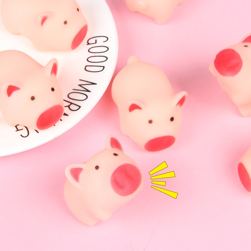 1Pcs Lovely Kawaii Squeezing Pig Toy,Cartoon Animal Slow Rising Squishy Toy,Reduce Stress Make People Relaxed Children Gift