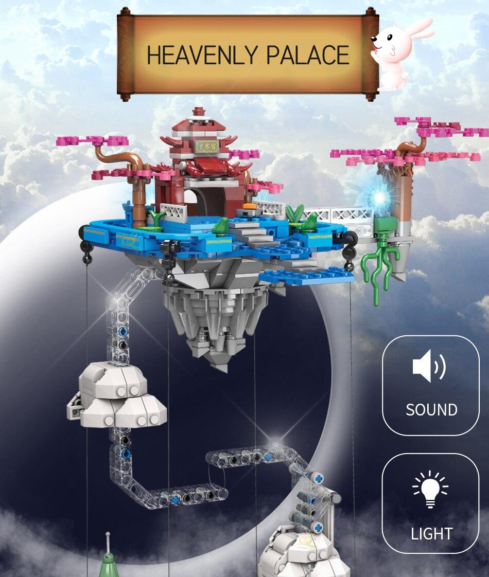 """конструктор huiqibao """"небесный дворец"""""""