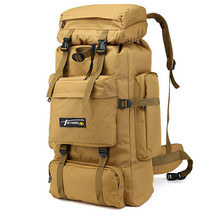 70L Large Capacity Tactical Bag Military Backpack Men Outdoor Sport Mountaineering Hiking Bags Rucksack Army Travel