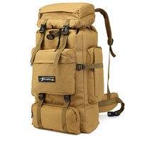 70L büyük kapasiteli taktik çanta askeri sırt çantası erkekler açık spor dağcılık yürüyüş çantaları sırt çantası ordu seyahat sırt çantası|Tırmanma Çantaları|Spor ve Eğlence -