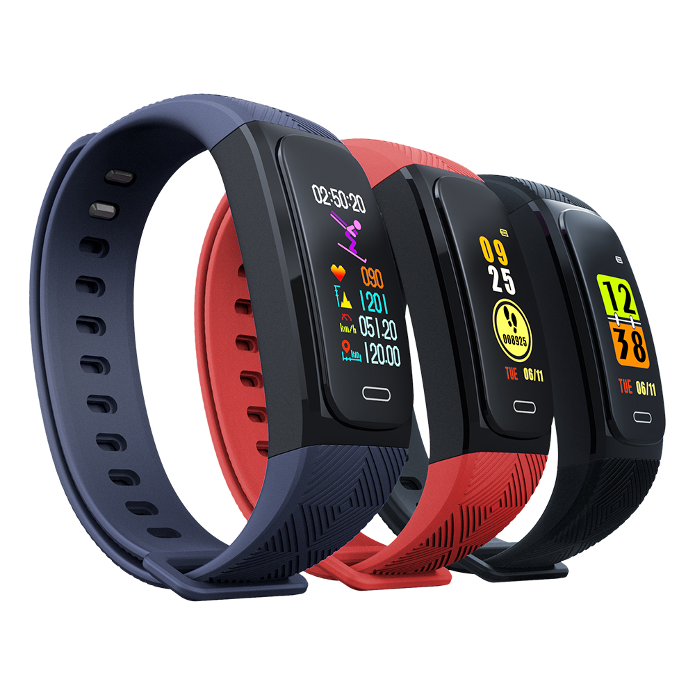 UW200 GPS Bracelet intelligent IP68 étanche Fitness Bracelet Tracker Bracelet intelligent moniteur de fréquence cardiaque Sport montre intelligente hommes femmes