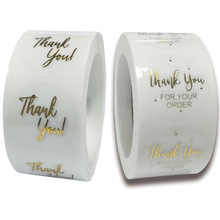 Stationery Sticker Package Label Wedding-Decor Thank-You Card-Box Clear Merry-Christmas