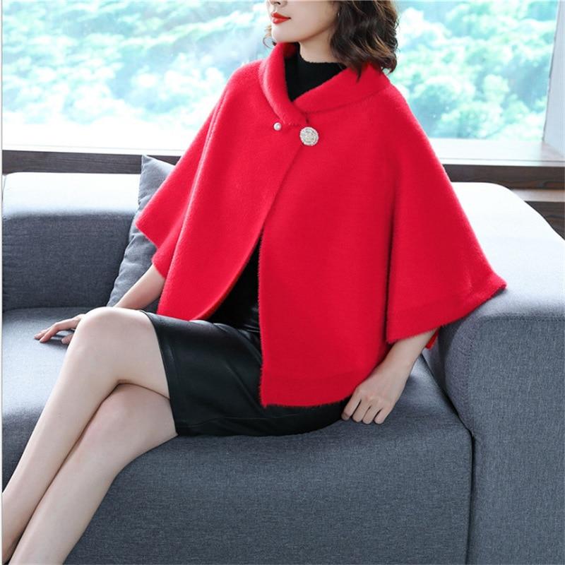 Винтажный свободный клетчатый кардиган свитер женское утепленное