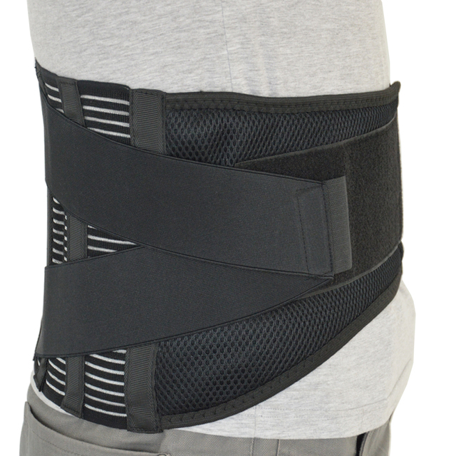 Orthopedic Posture Corrector Brace New Elastic Adjustable Lower Back Waist Trimmer Belt Lumbar Support Belt Corset Men Women 1