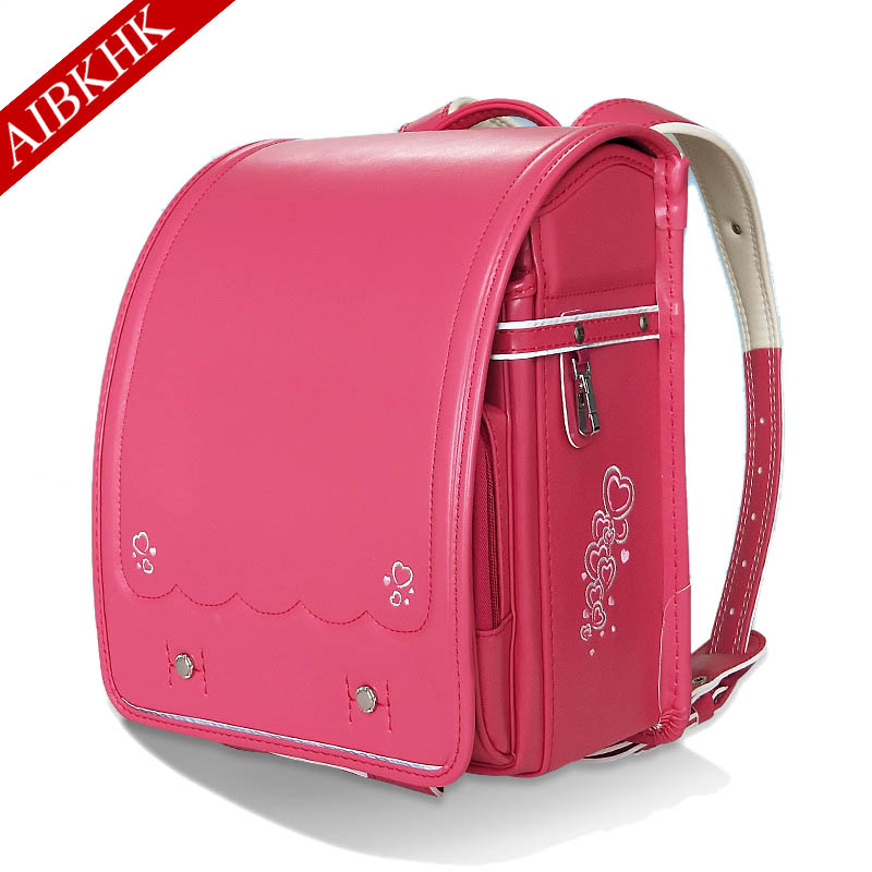 Book Bag Printing Bag For Girls Boys Children School Orthopedic Schoolbag Backpack For School Randoseru Students Bookbag