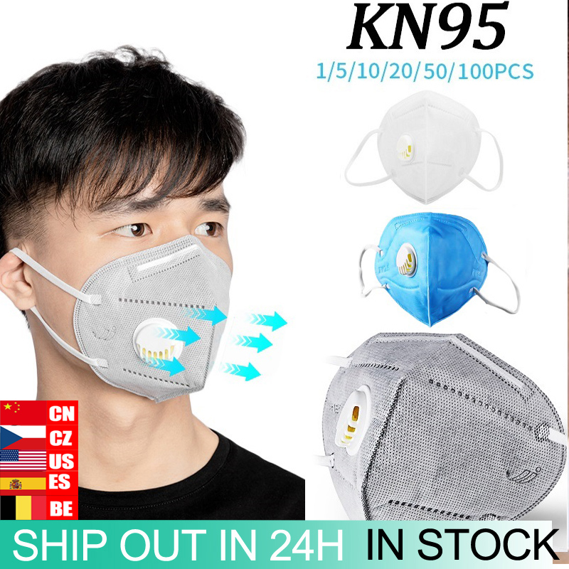1/5/10/20/50/100pcs N95 KN95 Anti-Fog FFP2 Dust Mask Child Adult PM2.5 Anti Mouth Masks Healthy Air Filter Dust Proof Protection