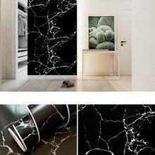 Wallpaper Sticker Door Furniture Marble Grain Self-Adhesive Counter-Top Waterproof PVC
