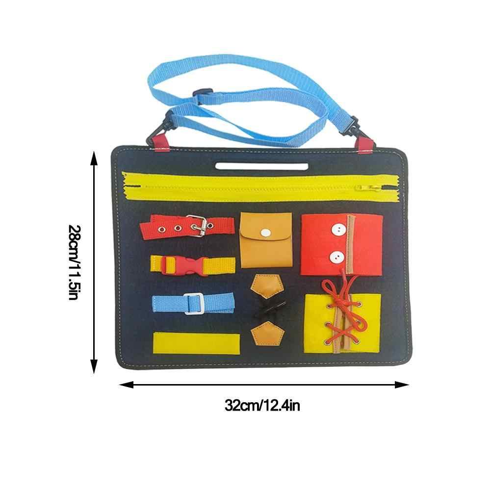 От 1 до 5 лет Детская игрушка войлочная доска для детей дошкольного образования игрушка доска для рисования учится носить Пряжка для одежды обучающая игрушка