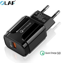 Olaf Quick Charge 3.0 USB Charger QC3.0 QC Fast Charging EU/US Plug Adapter Wall Mobile Phone Charger For iPhone Samsung Xiaomi 3 usb charger quick charge 3 0 fast charging adapter 24w mobile phone qc wall usb cable charger for iphone samsung huawei xiaomi