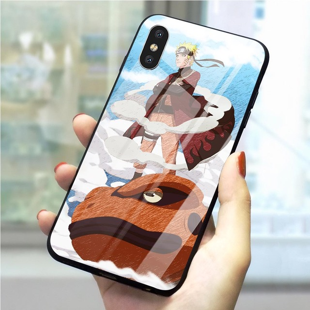 NARUTO THEMED IPHONE CASE (12 VARIAN)