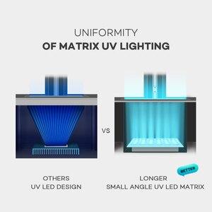 Image 2 - LONGER Orange 10 LCD 3D Printer Affordable SLA 3D Printer Metal Body Matrix LED Design Fast Cooling Resin Printer 3d Drucker