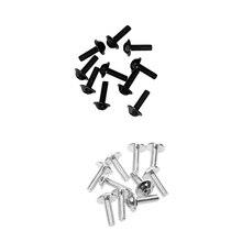"""20 шт. болтов для номерного знака автомобиля 6 мм 1/"""" набор крепежных деталей для мотоцикла, грузовика, RV, квадроцикла и т. д. автомобильные аксессуары"""