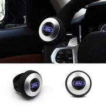 Car Steering Wheel Spinner Knob Ball Handle Control Spinner Parts For Ford Fiesta EcoSport MK2 MK3 MK1 MustangFOCUS 2 3 4 5