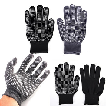 2Pcs Heat Resistant Protective Glove Hair Styling Curling Straight Flat Iron Rollers - discount item  30% OFF Gloves & Mittens