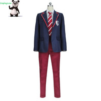 Elite TV Series Netflix School Uniform Cosplay Costume Boys Custom made For Christmas Halloween CosplayLove