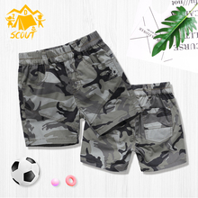 Childrens Camouflage Shorts Boys Summer Thin Girls Pants Wear Unisex Large Five Tide
