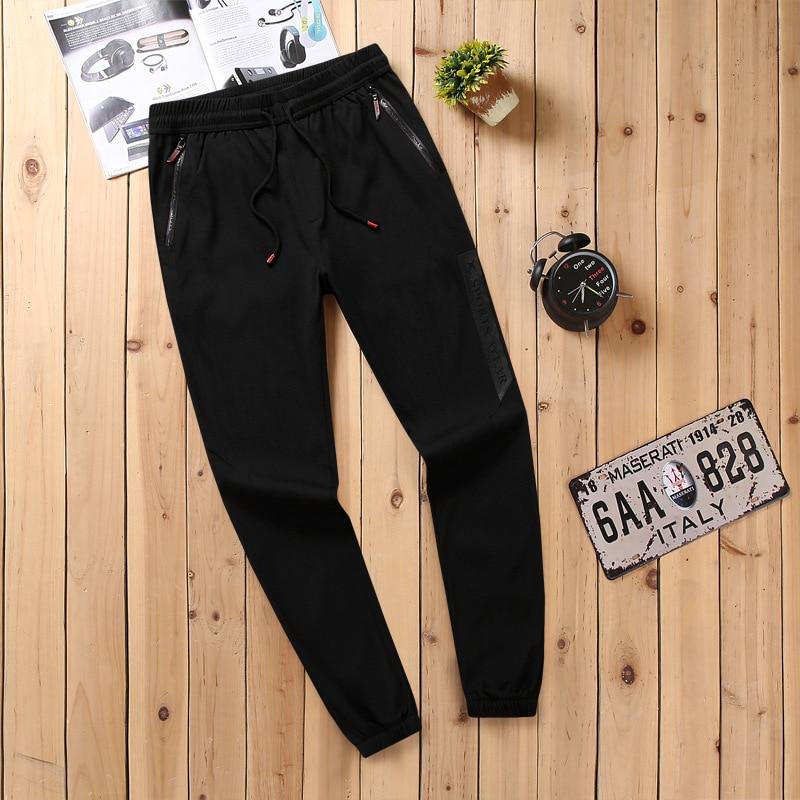 Autumn Casual Pants Men Korean-style Skinny Pants Plus-sized New Style Trousers Sports Pants Men's Elasticity Pants