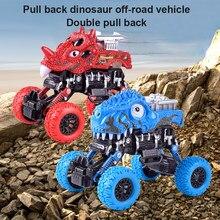 1PCS 4 Colori Auto Inerziale Giocattoli A Quattro ruote Motrici Off-road Del Veicolo Per Bambini di Simulazione Stunt Auto Giocattolo per I Bambini Regalo Di Natale