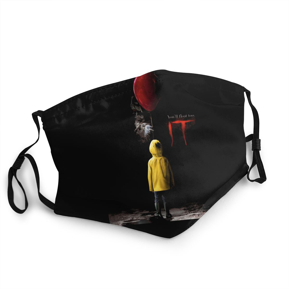 Stephen King's It Unisex Non-Disposable Face Mask Anti Haze Dustproof Mask Protection Cover Respirator Mouth Muffle