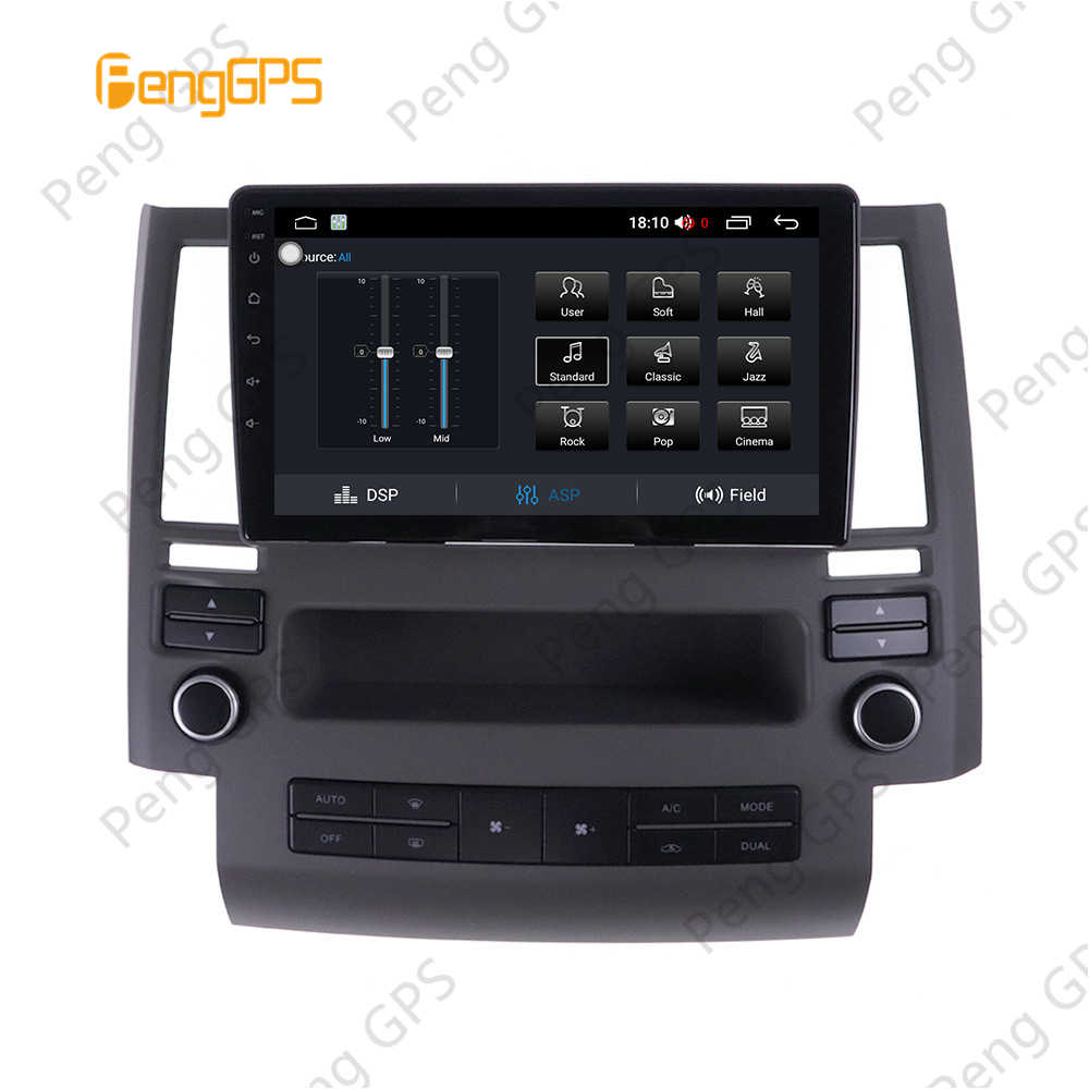2 Din Stereo Android 8,1 für Infiniti FX35 FX45 2003-2006 GPS Navigation Auto CD DVD Player Radio Multimedia multimedia 4K Einheit
