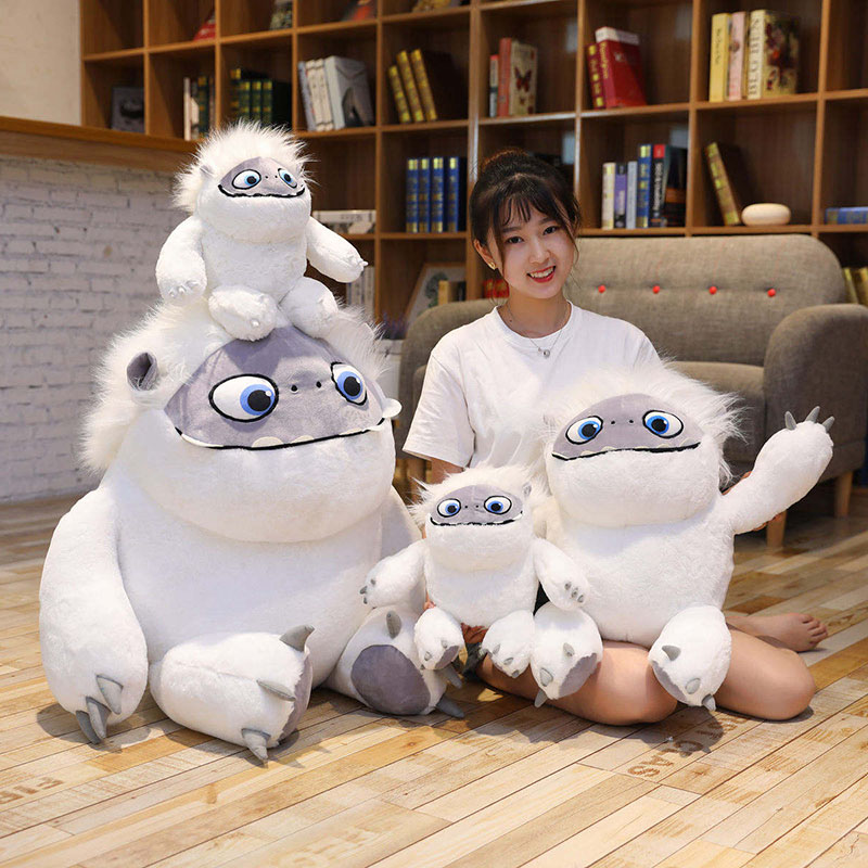 Abominable Plush Toy Anime Movie Character Stuffed White Monster Soft Doll Kids Toys Birthday Gift