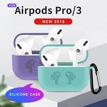 Wireless Earphone Case For Apple AirPods Pro Case Silicone Headphone Case for Air pods Pro 3 Cover