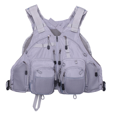 Fly Fishing Vest Bass Fishing and Outdoor Activities Mesh Jacket  Multifunction Pockets Adjustable Backpack for Men and  Women цена 2017