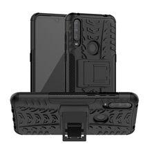 Para alcatel 1 s 1 v 3l 2020 caso luxo pc + tpu voltar capa suporte armadura à prova de choque caso para alcatel 1 s 1 v 3 l 2020 casos de telefone