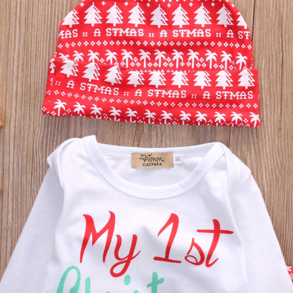 Pudcoco Appena Nato Dei Vestiti Del Bambino 3 Pcs Outfit T-Shirt Pantaloni Lunghi Vestito di Cotone Infantile Bebek Abbigliamento Set 0-18M del Bambino Del Velluto Set