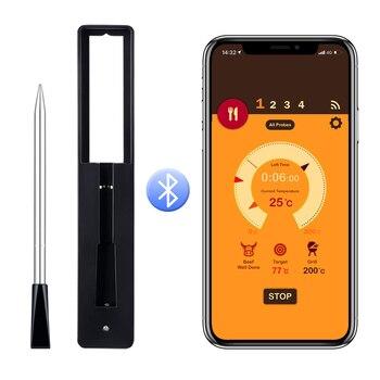 Bluetooth Lebensmittel Fleisch Steak Thermometer  1